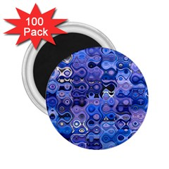 Background Texture Pattern Colorful 2.25  Magnets (100 pack)