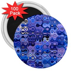 Background Texture Pattern Colorful 3  Magnets (100 pack)