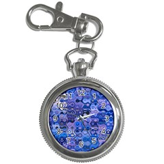 Background Texture Pattern Colorful Key Chain Watches