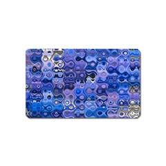 Background Texture Pattern Colorful Magnet (name Card)