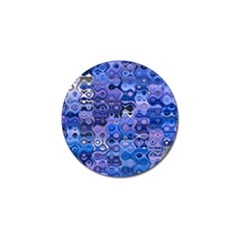 Background Texture Pattern Colorful Golf Ball Marker (4 Pack)