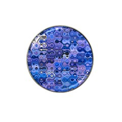 Background Texture Pattern Colorful Hat Clip Ball Marker