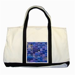 Background Texture Pattern Colorful Two Tone Tote Bag