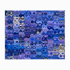Background Texture Pattern Colorful Small Glasses Cloth (2 Side)