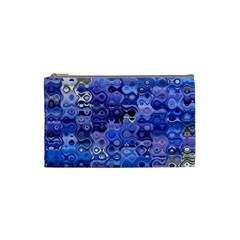 Background Texture Pattern Colorful Cosmetic Bag (small)