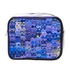 Background Texture Pattern Colorful Mini Toiletries Bags