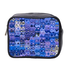 Background Texture Pattern Colorful Mini Toiletries Bag 2 Side