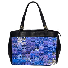 Background Texture Pattern Colorful Office Handbags (2 Sides)
