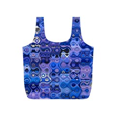 Background Texture Pattern Colorful Full Print Recycle Bags (s)