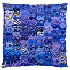 Background Texture Pattern Colorful Large Flano Cushion Case (one Side)