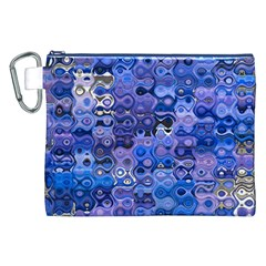 Background Texture Pattern Colorful Canvas Cosmetic Bag (xxl)