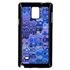 Background Texture Pattern Colorful Samsung Galaxy Note 4 Case (black)