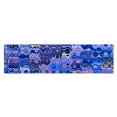Background Texture Pattern Colorful Satin Scarf (Oblong)