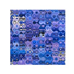 Background Texture Pattern Colorful Small Satin Scarf (Square)