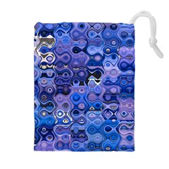 Background Texture Pattern Colorful Drawstring Pouches (extra Large)