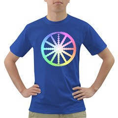 Polygon Evolution Wheel Geometry Dark T-Shirt