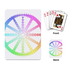 Polygon Evolution Wheel Geometry Playing Card