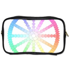 Polygon Evolution Wheel Geometry Toiletries Bags
