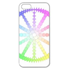 Polygon Evolution Wheel Geometry Apple Seamless Iphone 5 Case (clear)