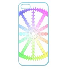 Polygon Evolution Wheel Geometry Apple Seamless Iphone 5 Case (color)