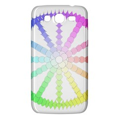 Polygon Evolution Wheel Geometry Samsung Galaxy Mega 5 8 I9152 Hardshell Case