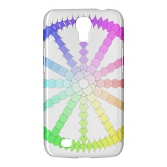 Polygon Evolution Wheel Geometry Samsung Galaxy Mega 6.3  I9200 Hardshell Case