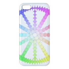 Polygon Evolution Wheel Geometry Iphone 5s/ Se Premium Hardshell Case