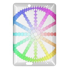 Polygon Evolution Wheel Geometry Amazon Kindle Fire Hd (2013) Hardshell Case