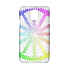 Polygon Evolution Wheel Geometry Samsung Galaxy S5 Hardshell Case