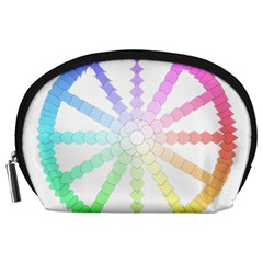 Polygon Evolution Wheel Geometry Accessory Pouches (large)