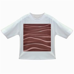Lines Swinging Texture Background Infant/toddler T Shirts