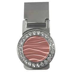 Lines Swinging Texture Background Money Clips (CZ)