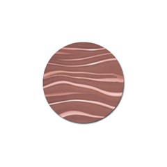 Lines Swinging Texture Background Golf Ball Marker