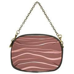 Lines Swinging Texture Background Chain Purses (one Side)