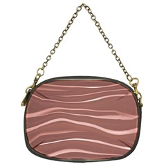 Lines Swinging Texture Background Chain Purses (two Sides)