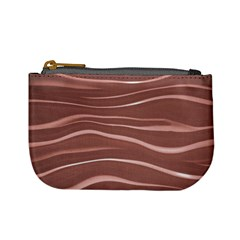 Lines Swinging Texture Background Mini Coin Purses