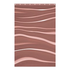 Lines Swinging Texture Background Shower Curtain 48  X 72  (small)