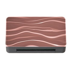 Lines Swinging Texture Background Memory Card Reader with CF