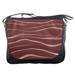 Lines Swinging Texture Background Messenger Bags