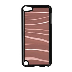 Lines Swinging Texture Background Apple iPod Touch 5 Case (Black)