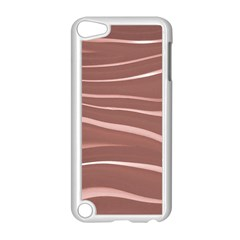 Lines Swinging Texture Background Apple Ipod Touch 5 Case (white)