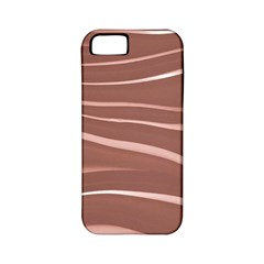 Lines Swinging Texture Background Apple Iphone 5 Classic Hardshell Case (pc+silicone)