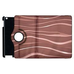 Lines Swinging Texture Background Apple Ipad 2 Flip 360 Case