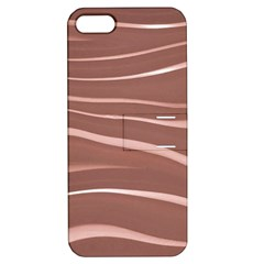 Lines Swinging Texture Background Apple iPhone 5 Hardshell Case with Stand