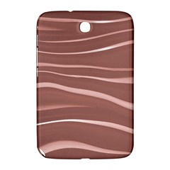 Lines Swinging Texture Background Samsung Galaxy Note 8 0 N5100 Hardshell Case