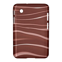 Lines Swinging Texture Background Samsung Galaxy Tab 2 (7 ) P3100 Hardshell Case