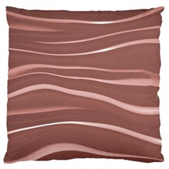 Lines Swinging Texture Background Standard Flano Cushion Case (One Side)