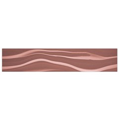 Lines Swinging Texture Background Flano Scarf (Small)