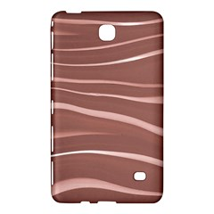 Lines Swinging Texture Background Samsung Galaxy Tab 4 (7 ) Hardshell Case