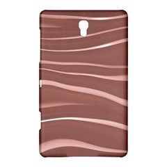 Lines Swinging Texture Background Samsung Galaxy Tab S (8 4 ) Hardshell Case